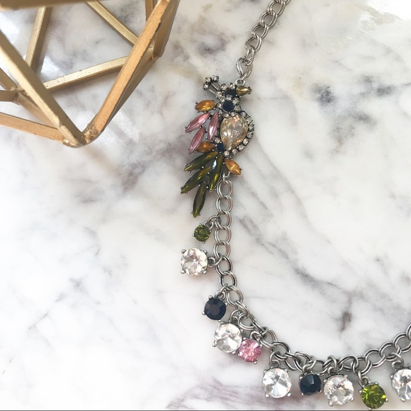 Ann Taylor Jewelry - Ann Taylor • Crystal Peacock Statement